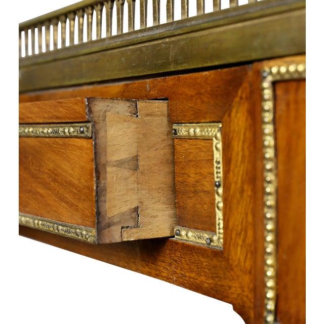 Louis XVI Walnut Architects Table a La Tronchin For Sale - Image 11 of 13