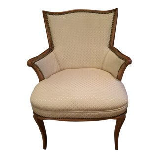 Vintage Reupholstered Accent Chair