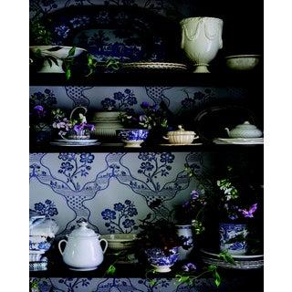 Schumacher Marella Wallpaper in Delft Preview
