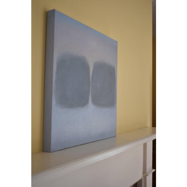 """Acrylic Abstract Painting """"Hope Springs - Soulmates"""" by Stephen Remick For Sale - Image 7 of 10"""