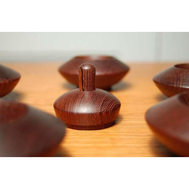 1960s Wenge Salt Chambers From Denmark For Sale - Image 5 of 7