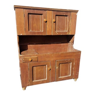 1850-1860 Fine Antique Dry Sink For Sale