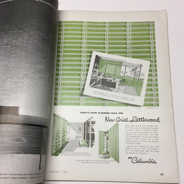 1950s Vintage Interiors Architecture Magazine For Sale - Image 11 of 12