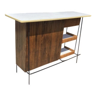 Mid Century Modern Arthur Umanoff for Shaver Howard Bar For Sale