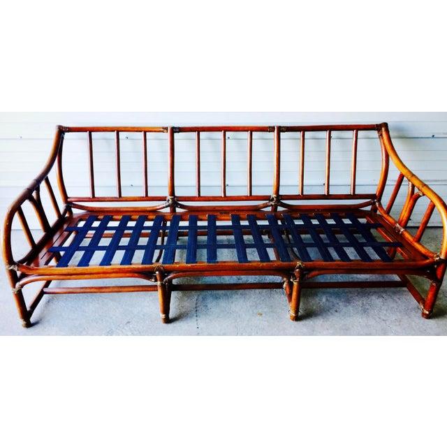 Ficks Reed Bamboo Sofa - Image 2 of 6