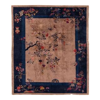 "Apadana-Antique Chinese Rug, 8'4"" X 9'7"""