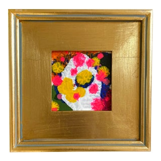 Happy Thoughts Mini Painting With Frame For Sale