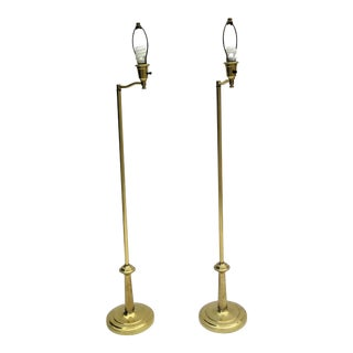 Frederick Cooper French Style Floor Lamps - A Pair For Sale