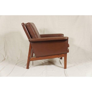Danish Modern Leather Chairs - A Pair Preview