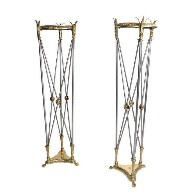 Hollywood Regency Planter Stand - A Pair - Image 1 of 10
