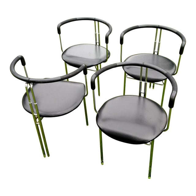 Antonio Citterio CiDue Italian Chairs - Set of 4 For Sale - Image 4 of 9