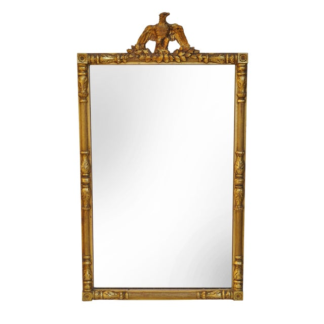Federal Style Gold Brass & Gilt Eagle Mirror - Image 1 of 3