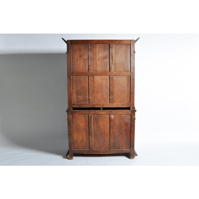 "Black Forest French ""Black Forest"" Style Hunting Oak Buffet Cabinet For Sale - Image 3 of 11"