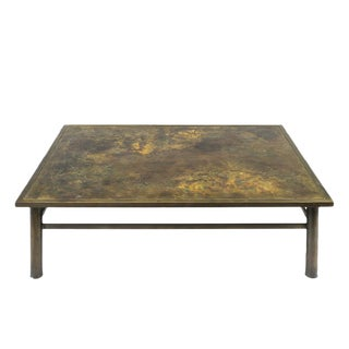 Philip & Kelvin LaVerne - Muses Bronze Coffee Table For Sale