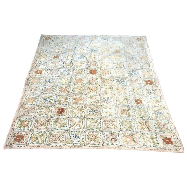 Treasure Chest Mutual Hand-Hooked Rug - 9' x 12' For Sale