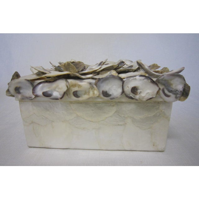 Cadiz & Oyster Shell Box - Image 2 of 6