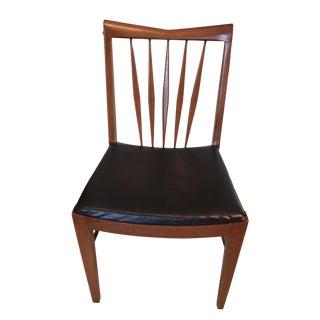 John A. Colby & Sons Mid-Century Modern Walnut Desk Chair