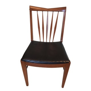Mid-Century Modern Walnut Desk Chair For Sale
