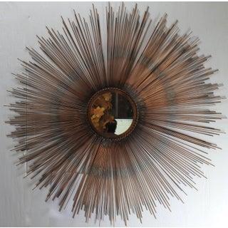 Mid-Century Modern Style Sunburst Mirror Preview