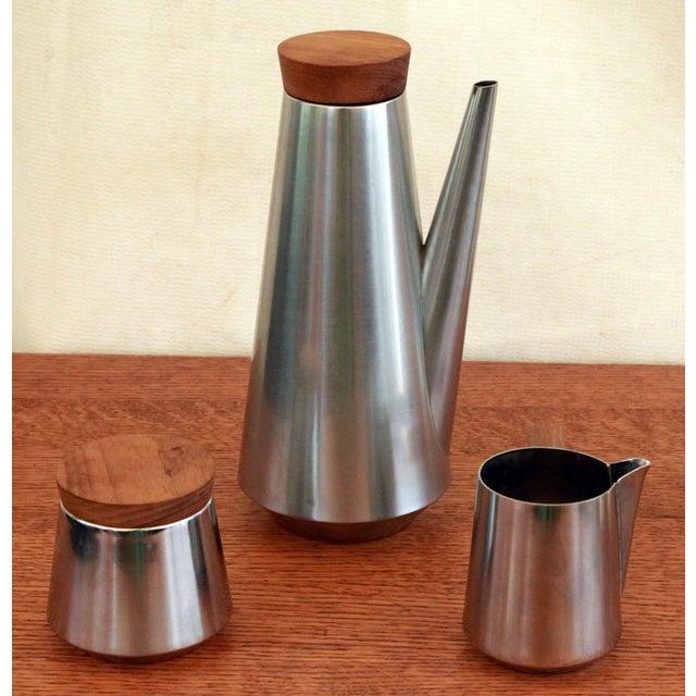 Italian Mid-Century Modern Coffee Service For Sale - Image 4 of 6