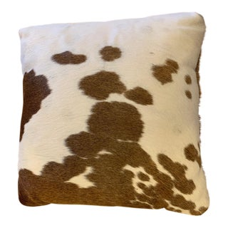 Room & Board Cowhide Throw Pillow For Sale