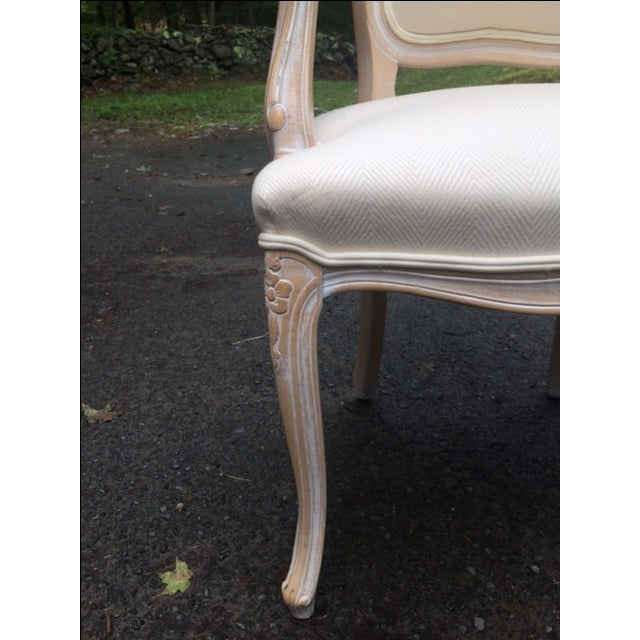 French Provincial Armchairs - A Pair - Image 4 of 6