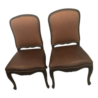 Ralph Lauren Dining Chairs - a Pair For Sale