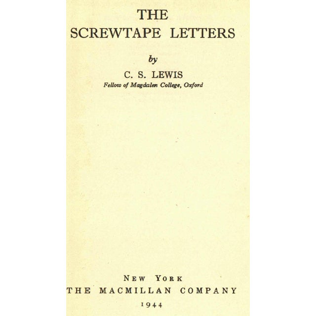 The Screwtape Letters by C. S. Lewis - Image 2 of 3