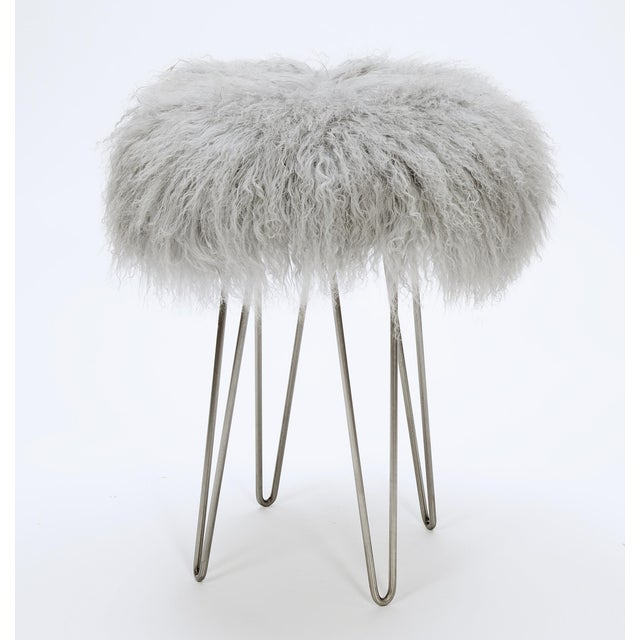 Fabulous Curly Hairpin Counter Stool Grey Pabps2019 Chair Design Images Pabps2019Com