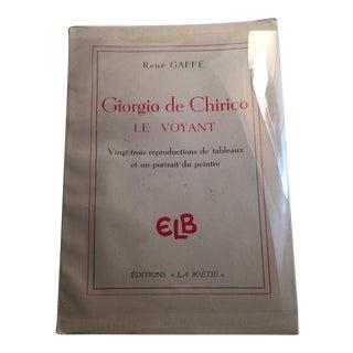 Vintage 1946 Giorgio De Chirico Le Voyant Book For Sale