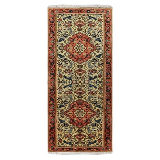"1990s Sarouk Wool Persian Rug-2'3"" X 7'11"" For Sale"