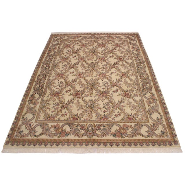 Victorian Basan Pak-Persian Rossana Wool Rug - 8′5″ × 10′ For Sale In New York - Image 6 of 9