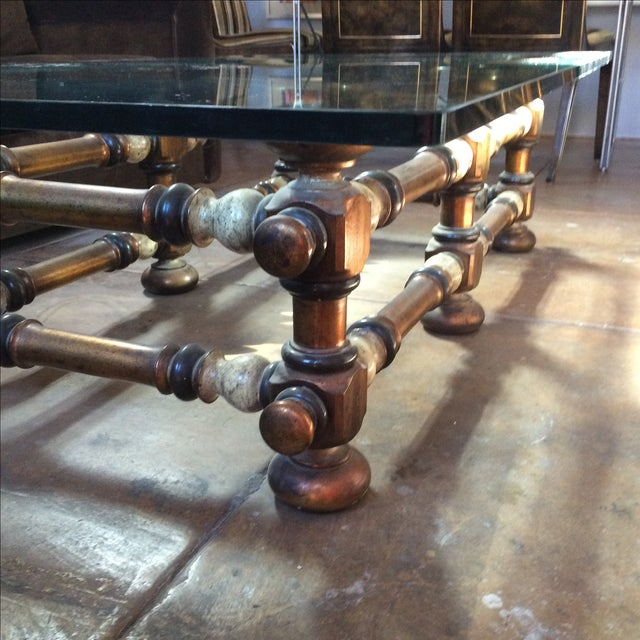 Mid Century Sculptural Coffee Table - Image 5 of 7