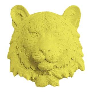 Wall Charmers Faux Taxidermy Yellow Mini Tiger