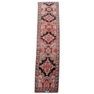 Karabagh Runner Rug - 3′7″ × 18′2″ For Sale