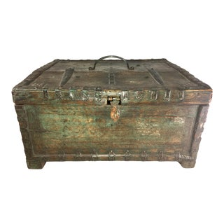 19 Century Oriental Cashbox For Sale