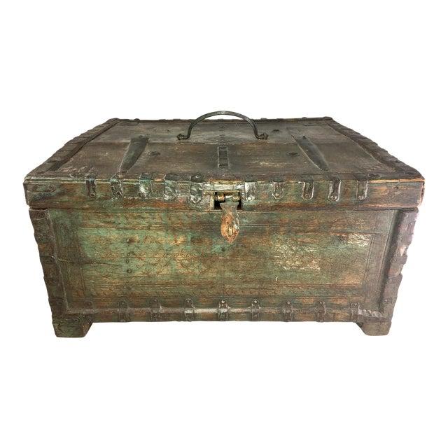 19 Century Oriental Cashbox For Sale