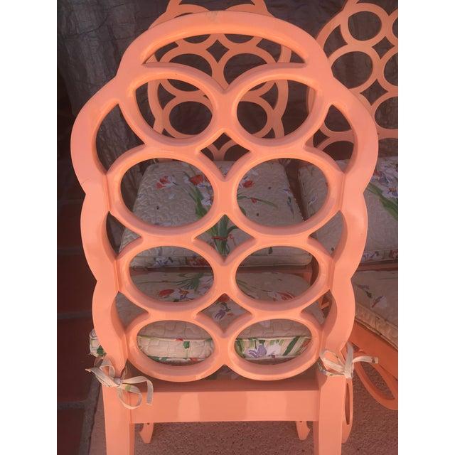Frances Elkins Frances Elkins Loop Chair- Set of 4 For Sale - Image 4 of 13