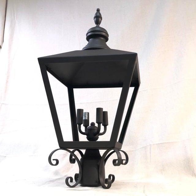 Troy Lighting Mumford 4-Light Outdoor Post Lantern For Sale - Image 12 of 12