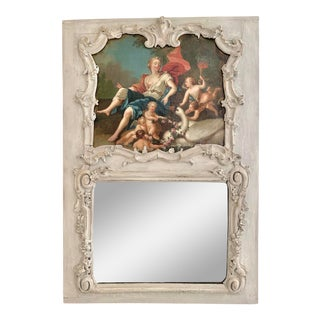 18th Century French Trumeau With Master Painting For Sale