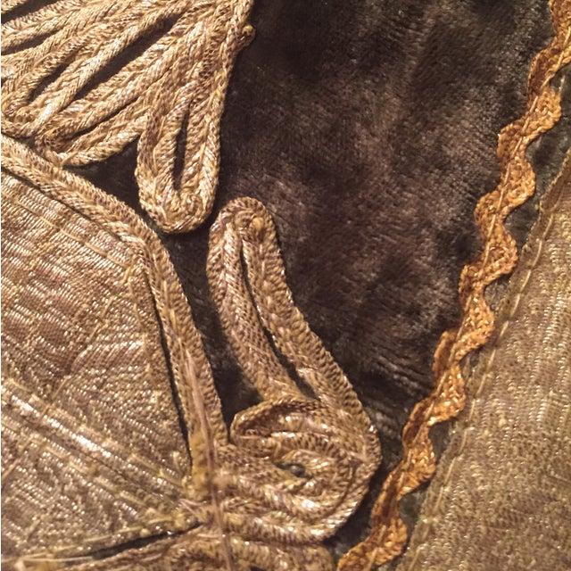 Afghanistan Brocade Vest Wall Hanging - Image 9 of 10