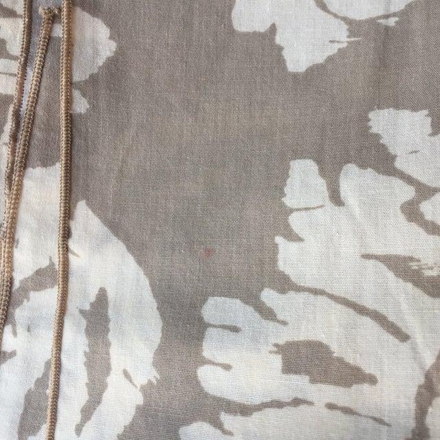Vintage Taupe Ikat Napkins - Set of 4 - Image 7 of 7