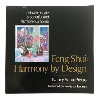 "1996 Chinese ""Feng Shui: Harmony by Design"" First Edition Design/Art Book For Sale"