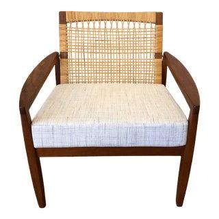 Hans Olsen for Juul Kristensen Teak Lounge Chair For Sale