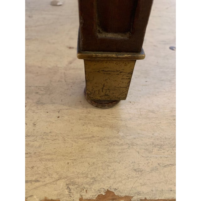 Traditional 19th Century Mahogany Neoclassical Regency Style Arm Chair With Stars For Sale - Image 3 of 13