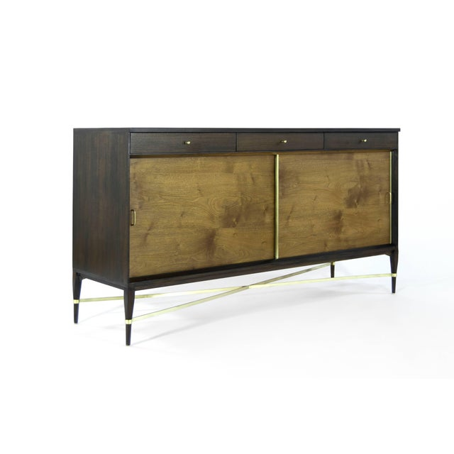 Gorgeous credenza or sideboard by Paul McCobb, Connoisseur collection. Completely restored.