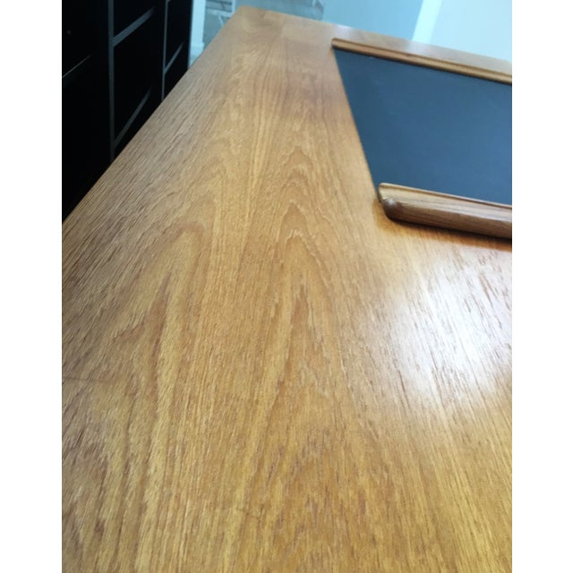 Jesper Danish Modern Flawless Teak Executive Desk For Sale In Philadelphia - Image 6 of 6