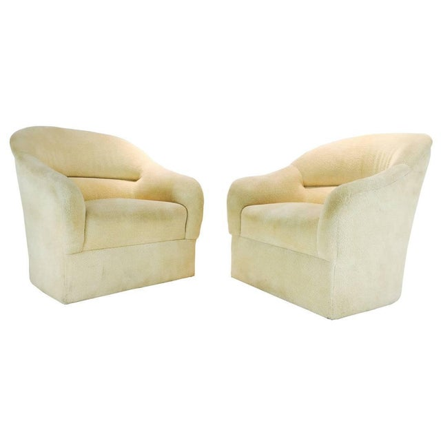 Pair of Ward Bennett Barrel Back Club Chairs For Sale In Dallas - Image 6 of 6