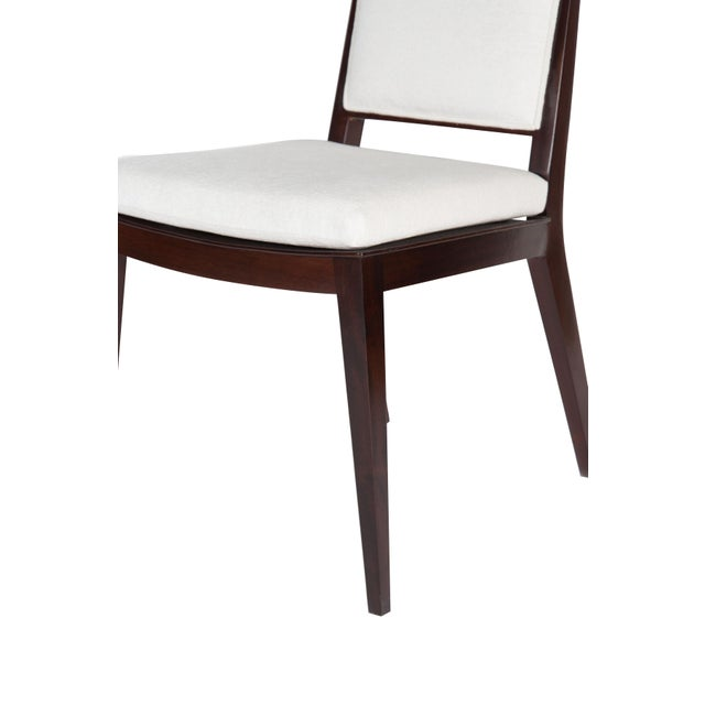 Set of 8 Frame Back Dining Chairs For Sale - Image 4 of 7