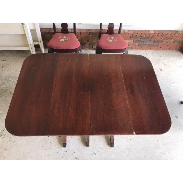1930's Duncan Phyfe Style Mahogany Dining Set - Image 6 of 13